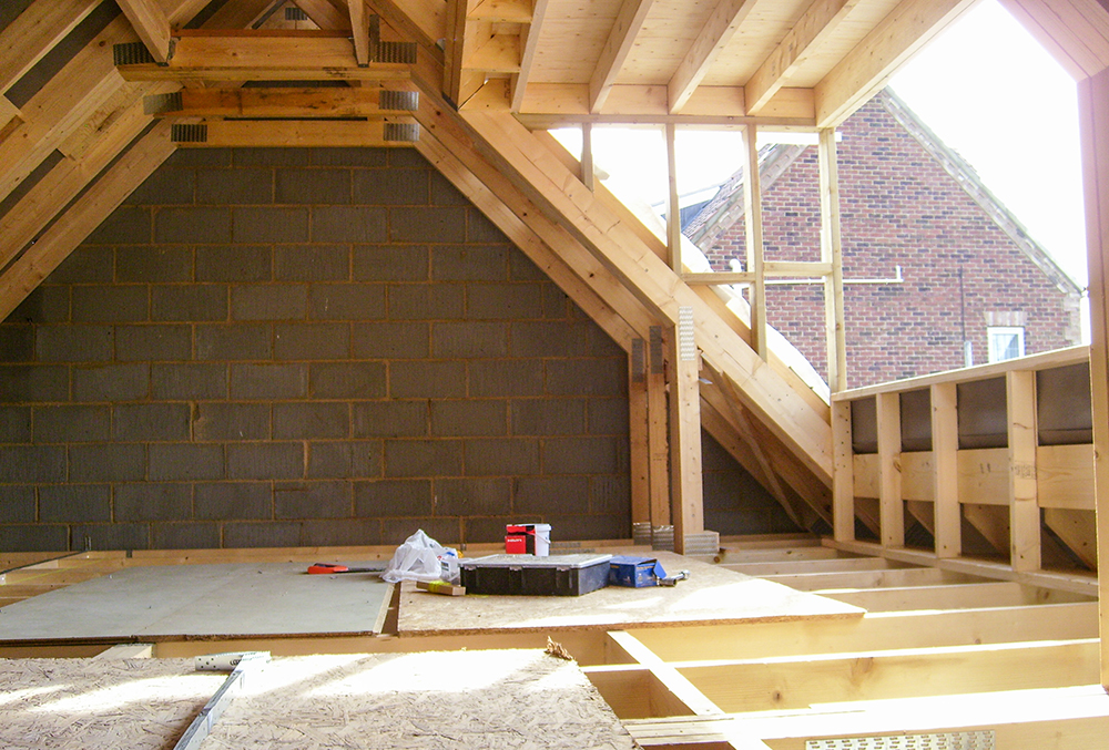 Garage loft conversion