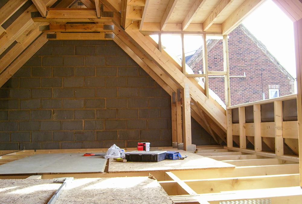 Garage Loft Conversion Project Peniston Construction