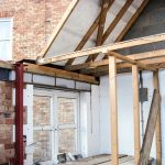 Garage loft conversion